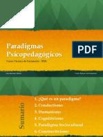 Paradigmas Psicopedagógicos 3