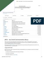 GitHub - Openmuc_jrxtx_ the Java Serial Communication Library
