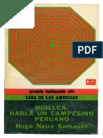 Huillca - Habla Un Campesino - Hugo Neira Semanez