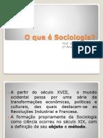 2º Aula Fundadores Da Sociologia