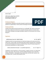 education resume amanda barry