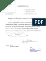 MDL-15-0360 Order Denying Defendants Motion For Summary Judgment