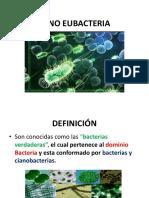 Reino Eubacteria y Arqueobacteria