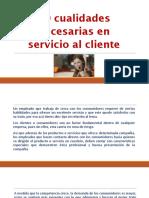 Cualidades Para Servicio Al Cliente