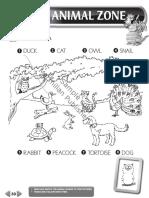 Quest unit 5 animal zone