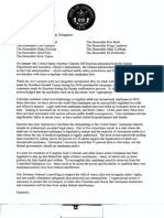 Colorado Congressional Delegation Letter to Jeff Sessions