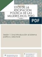 Retos de La Participación Política de Las Mujeres