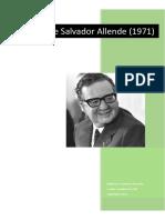 Discursos de Salvador Allende 1971