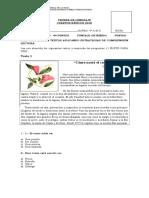 Prueba de Lenguaje(Fáb Expos Ley)