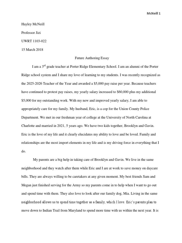 Book of college essays