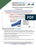GBS Software Para Esp Acueducto Alcantarillado Aseo