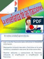 MATEMATICAS Ppt Fracciones 5to