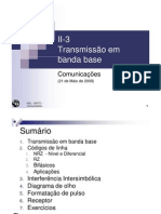 II-3 Banda Base