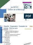 M3312C GestionMetrologie CM(Prof)