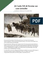La Morte di Carlo XII di Svezia - un caso irrisolto.pdf