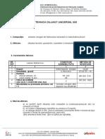 Fisa Tehnica Diluant Universal 509