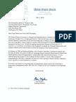 Sen. Ron Wyden's Transmission of NRA Communications to FEC