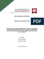 Proyecto Educativo UTI