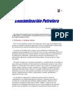 Contaminación Petrolera