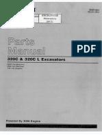 Catálogo de Peças - 320C & 320C L Exavadeira Hidraulica