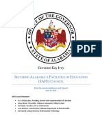 Alabama Governor SAFE Council report - May 7, 2018