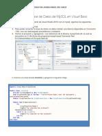 Conectar Una Base de Datos de MySQL en Visual Basic