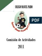 Plan Comisiones de Actividades I.E. MANUEL PARDO