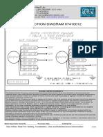 Bodine Pacesetter 230v 460v Connection