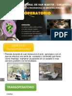 TRANSOPERATORIO PPT