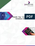 Emertxe Oracle 11g Syllabus