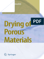 Drying of Porous Materials. Kowalski. 2007. Springer