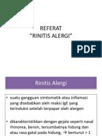 RINITIS ALERGI PPT