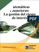 Matemáticas Financieras_ La Gestión Del Riesgo de Interés. (Spanish Edition