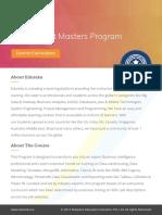 Business Intelligence Masters Program Curriculum