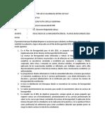 Informe Resultado de Plan de Bioseguridad