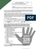 Encuesta Sobre La Sensibilización y Prevención de La Drogadicción Para Estudiantes Bachillerato