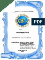 La Tabla Periodica - Quimica 1