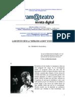 (Dubatti, Comp) Irazábal, F. La Recepción Crítica a Esperando a Godot en Bs. as.