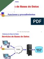 Servicios de Bases de Datos