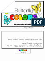 Butterfly Color Game