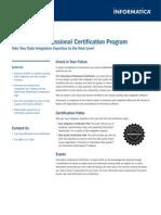 INFA CERTds Ges Certification 6830