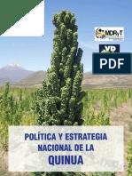 3 Politica y Estrategia Nacional de La Quinua Bolivia 2015