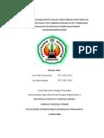 Laporan Tugas Persiapan Praktik Klinik II
