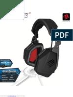 Manual usuario Headphones Freq9
