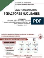 Reactores Nucleares de fisión y fusión