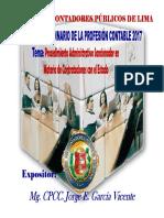 Procedimiento Sancionador Contrataciones Osce Ppt