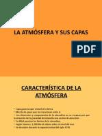 La Atmosfera y Sus Capas1