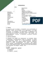 Geomecánica Silabos2018 i