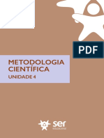 Unidade4 PDF Metodologia Científica