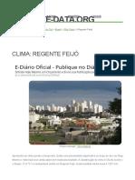 Clima_ Regente Feijó_ Climograma, Temperatura e Tabela Climátic